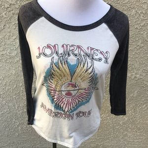 Lucky Brand Journey Band American Tour Shirt